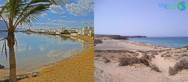 Isla de La Graciosa y Playas del Papagayo