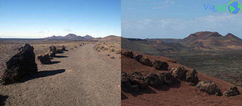 Parque Natural de los Volcanes de Tinajo y las Montañas del Fuego