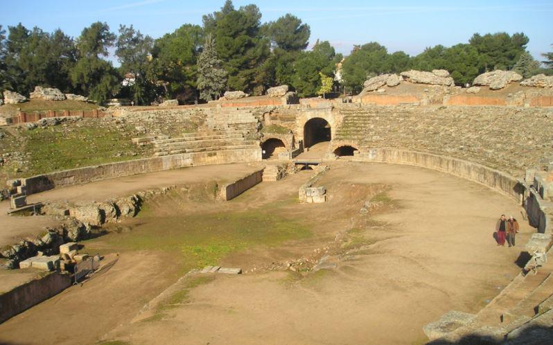 anfiteatro de merida ruinas