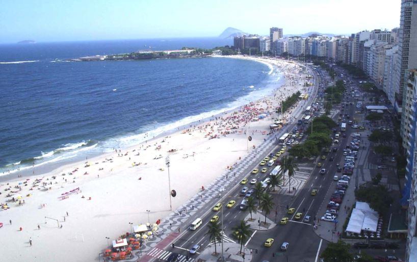 plaia de copacabana en brasil