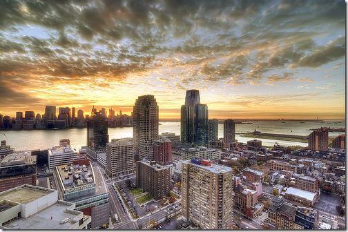 Sunrise Over New York