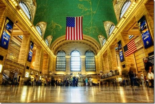 The Golden Hall of Grand Central Terminal