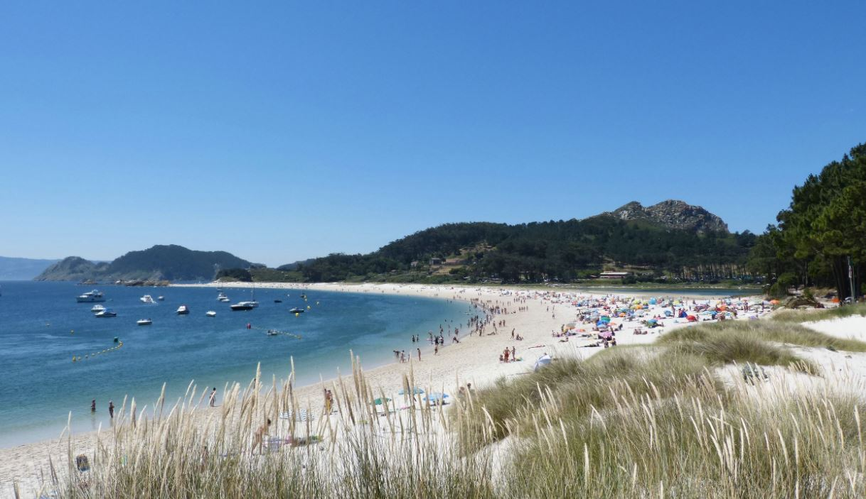 playas en las cies