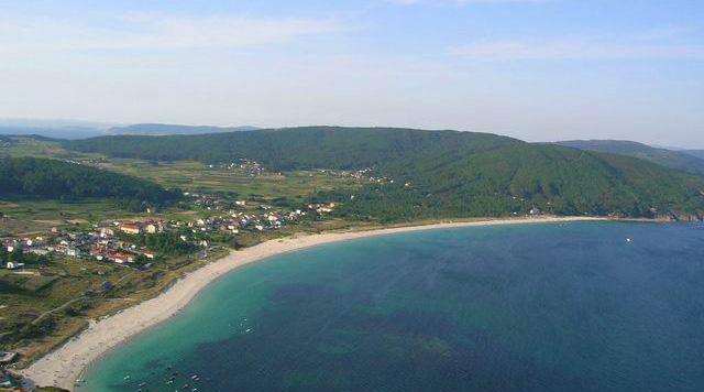 Playa Langosteira en Fisterra
