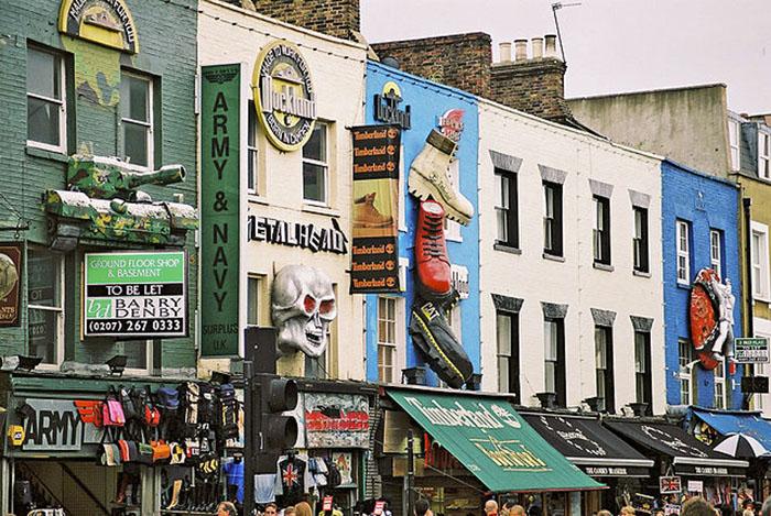 Camden Town Market tiendas