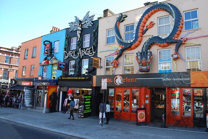 Camden Town mercadillo