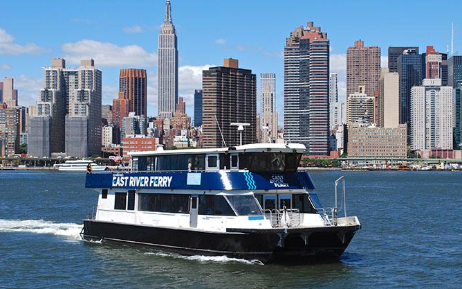NEW YORK CITY'S WATERWAYS lugar para enamorados
