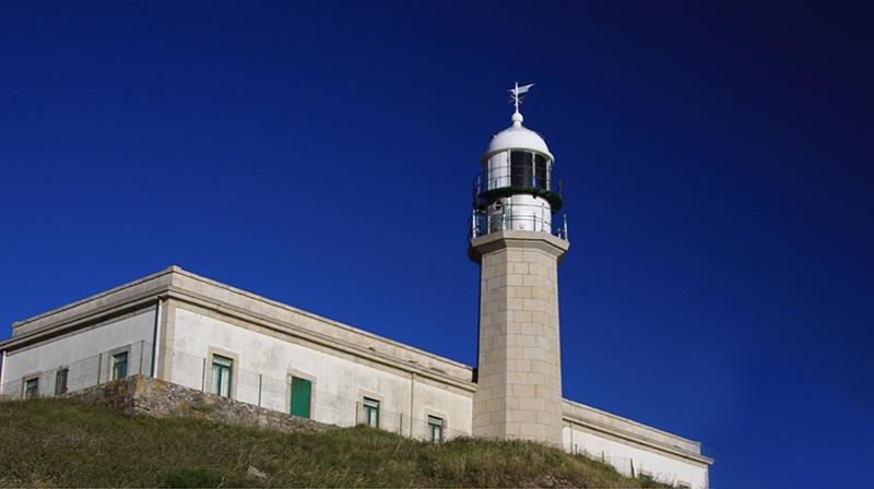 Faro de Punta Lariño en Carnota