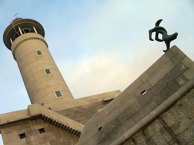 Faro de Punta Nariga en la Costa Da Morte