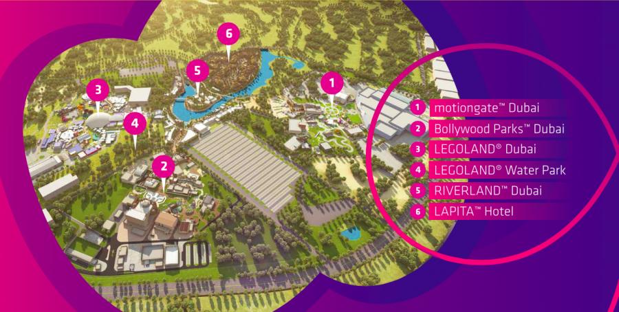 Dubai Parks será el mayor complejo de parques de diversión del mundo!