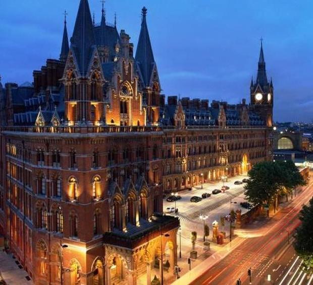 St Pancras Renaissance London Hotel el mas romantico de la ciudad