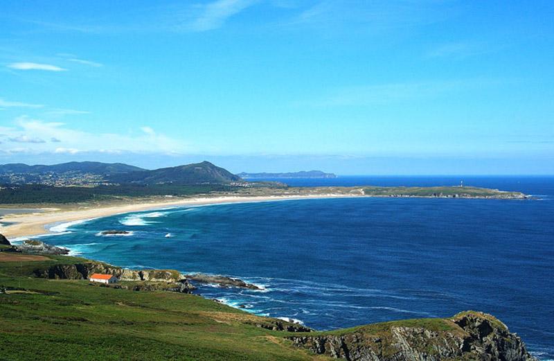 La Playa de A Frouxeira, en Valdoviño