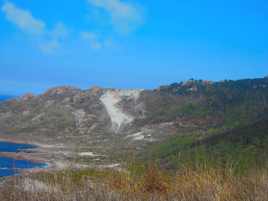 Monte blanco en Camarinas la duna rampante mas alta de Europa