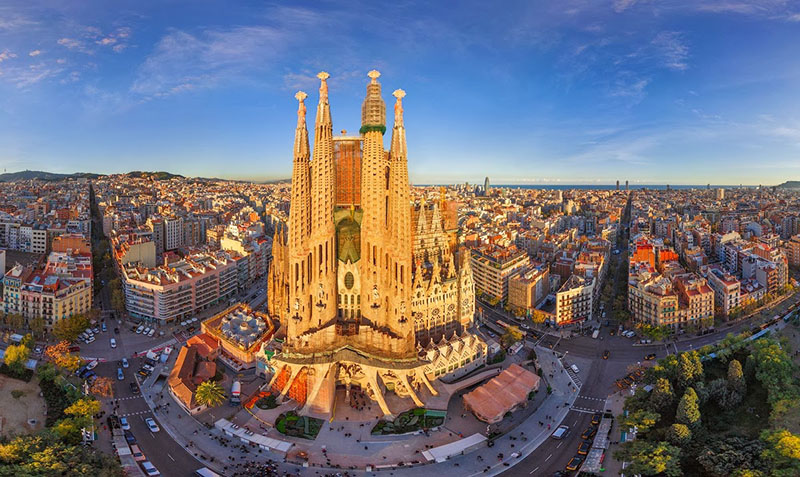 Barcelona que hermosa eres