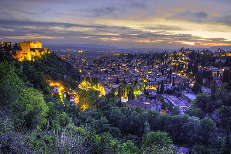 Granada espana bonita