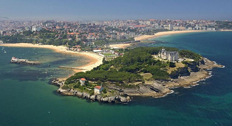 Santander bonita ciudad espana