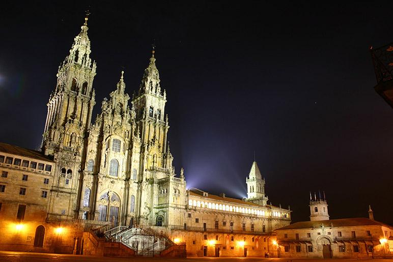 Santiago de Compostela hermosa ciudad gallega