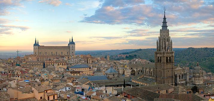 toledo bonita ciudad en espana