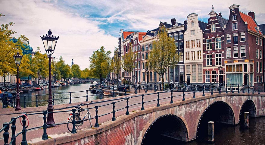 Amsterdam bonita ciudad