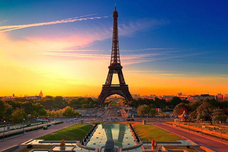 Paris ciudad del amor en europa