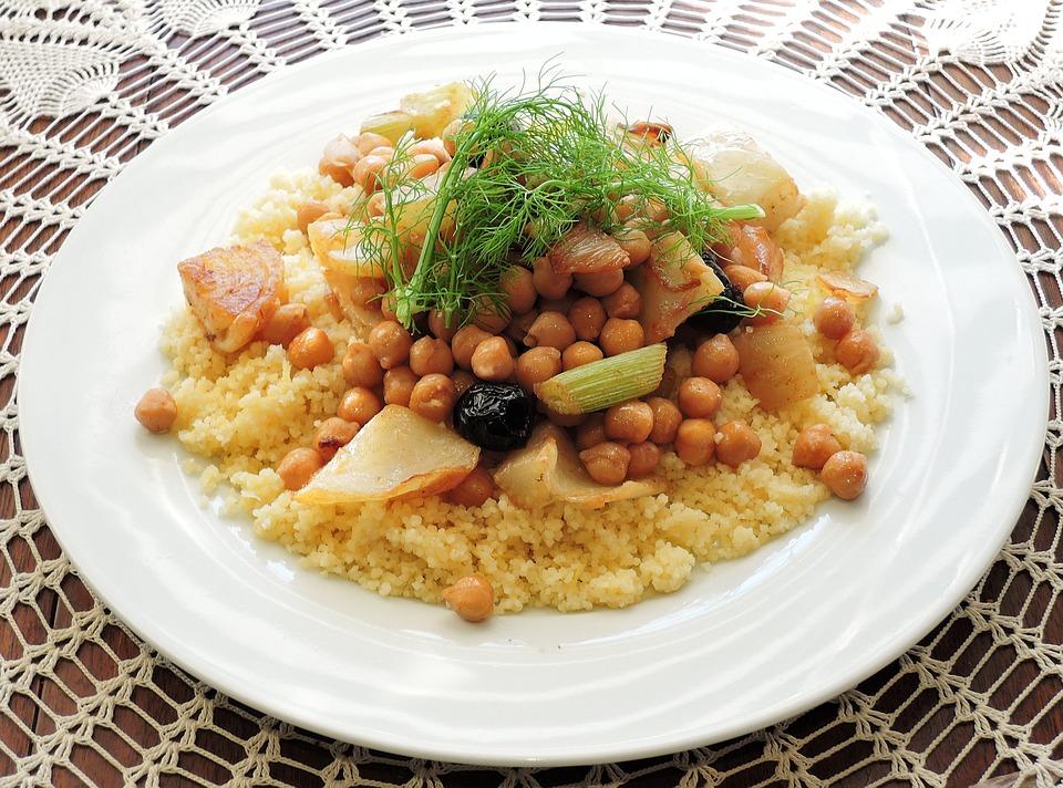 Cuscus comida tipica de africa