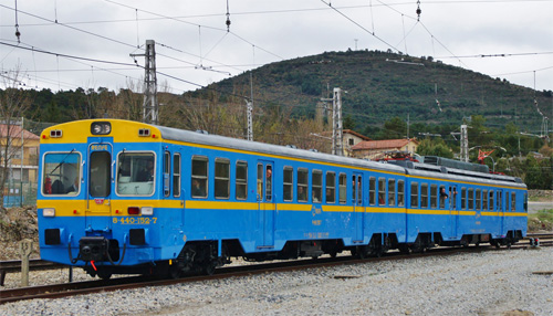 El Tren Rio Eresma