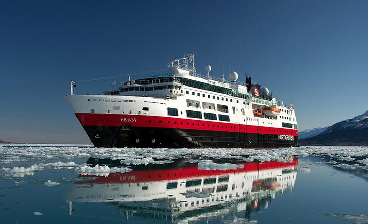 MS Fram crucero artico