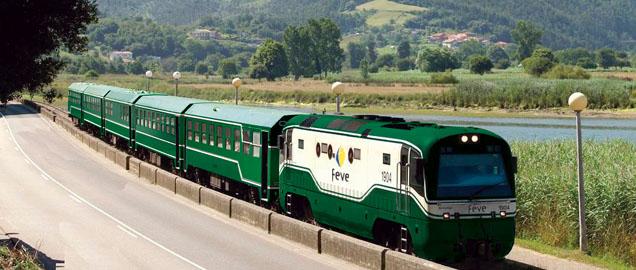 Tren de la montana leonesa Costa Verde