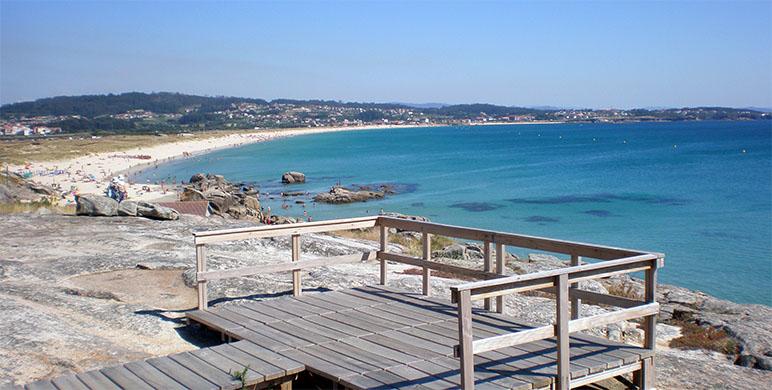 mirador praia lanzada galicia