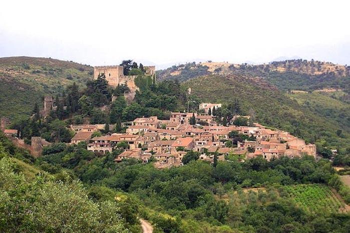 Castelnou pueblo medieval