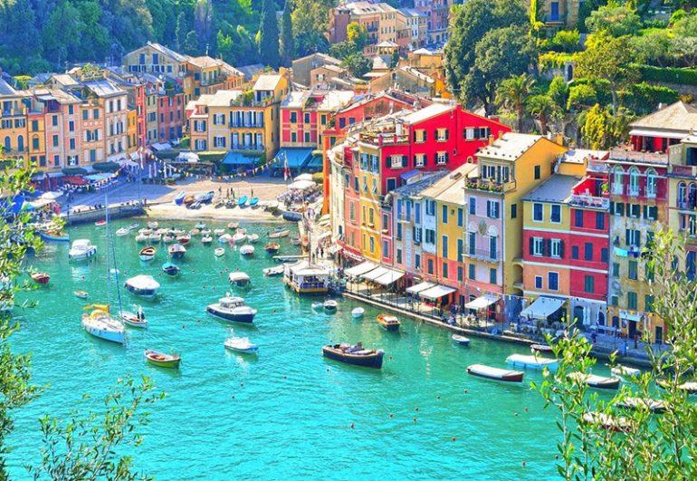 lugares bonitos de italia Camogli