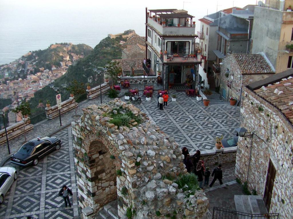pueblos con encanto de italia Castelmola