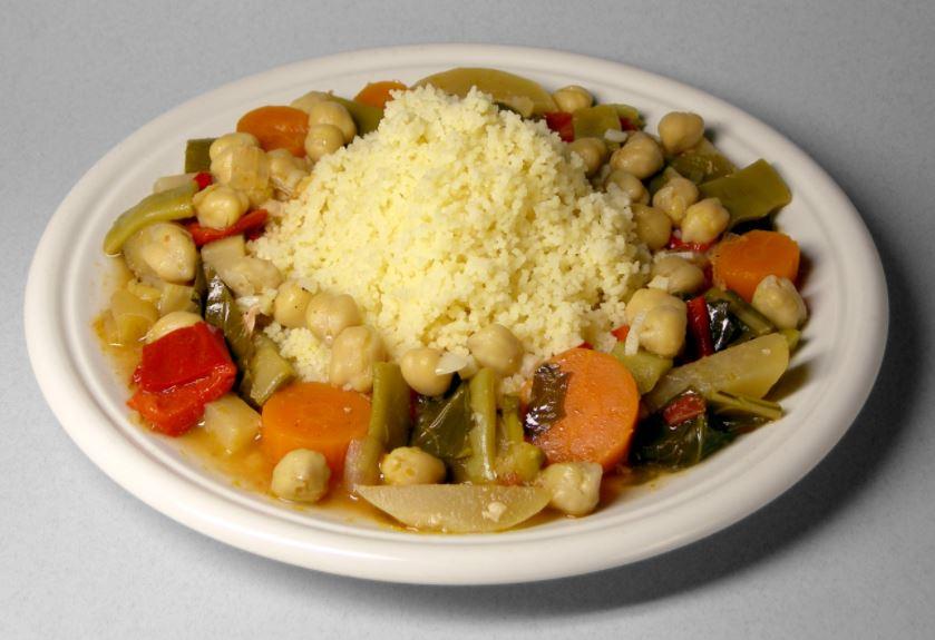Cuscus una comida tipica de marruecos