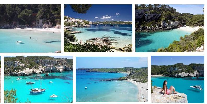 Las mejores playas y calas Menorca