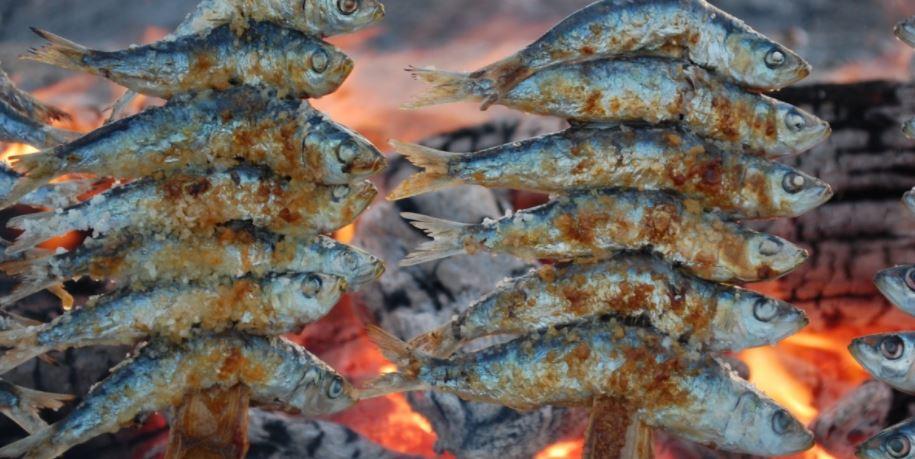 tipico de granada Moraga de sardinas