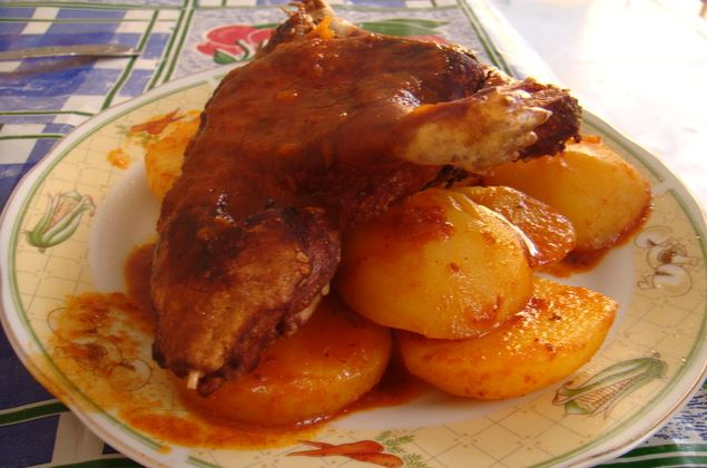 Picante de Cuy comida Huancavelica