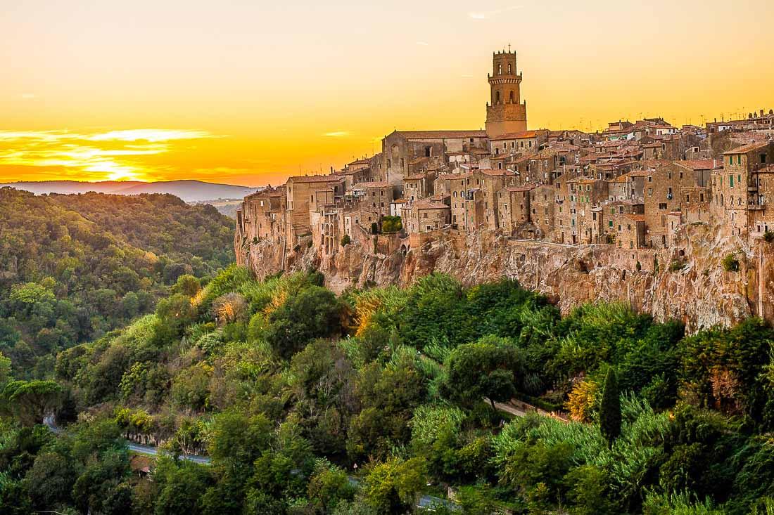 Pitigliano lugares más bonitos de italia