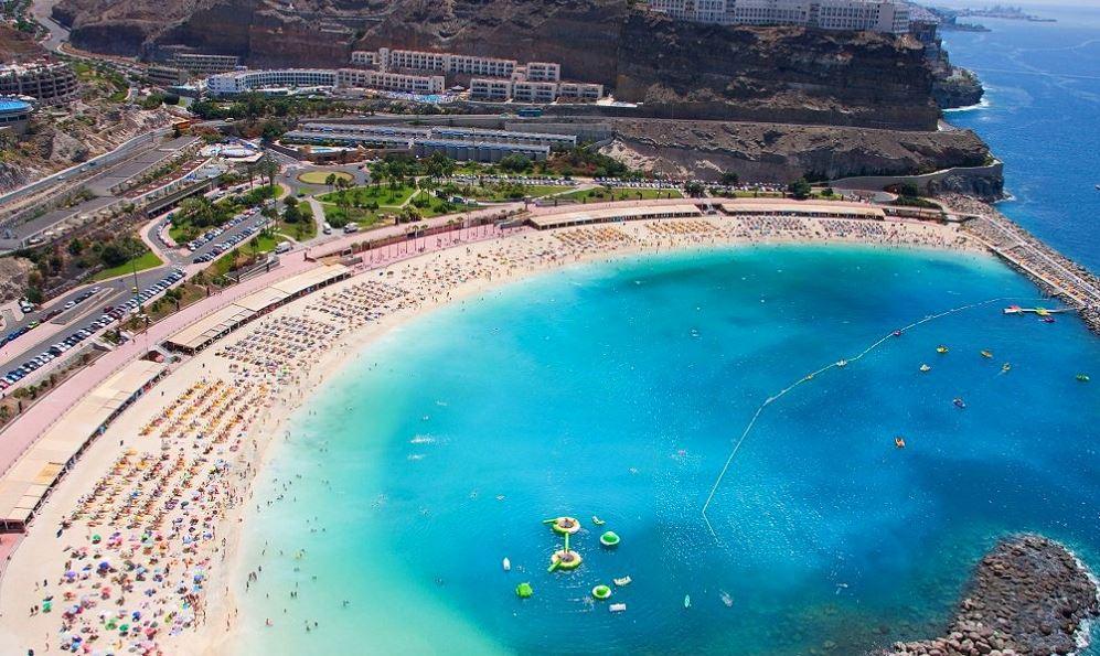 Playa De Amadores playas de gran canarias