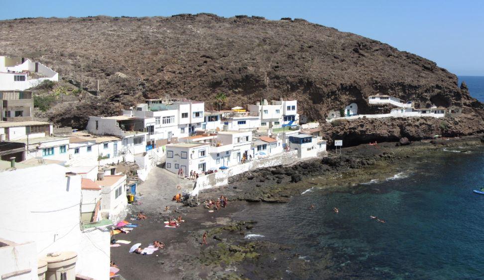 Playa De Tufia mejor playa en gran canaria