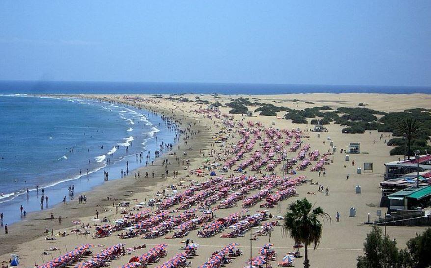 Playa Del Ingles mejores playas de gran canaria