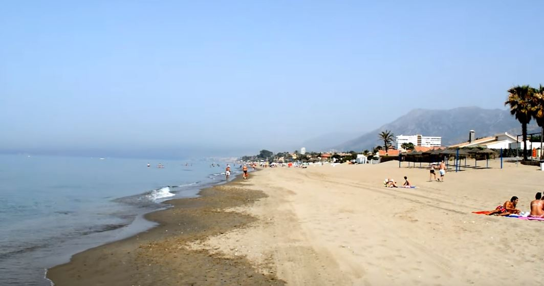 Playa Hermosa playas en marbella