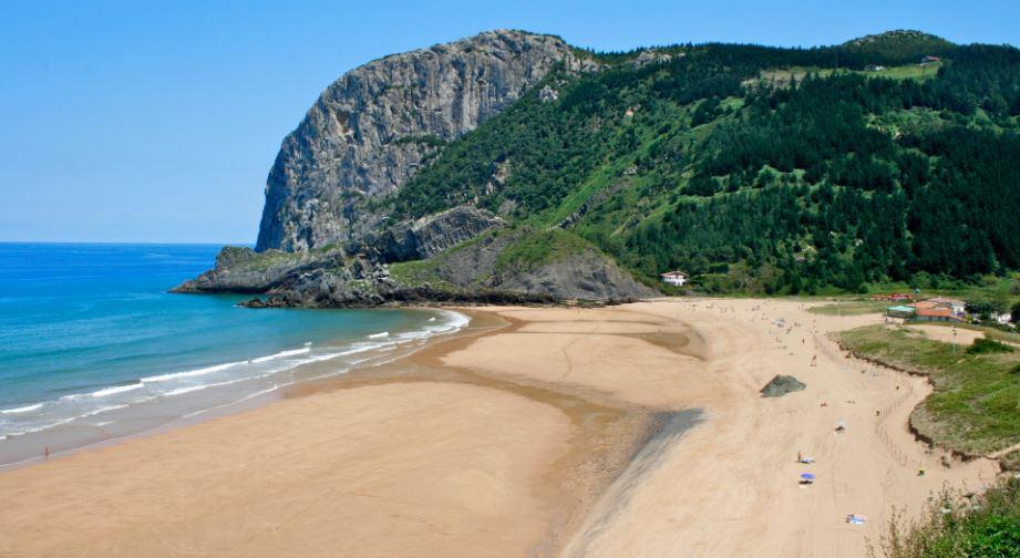 Playa de Laga de Ibarrangelu Euskadi
