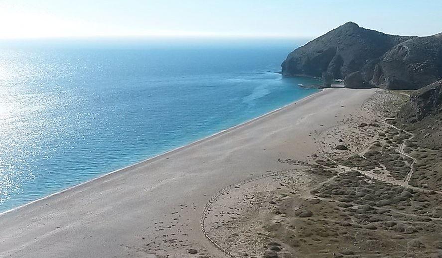 Playa de Los Muertos Carboneras Almeria