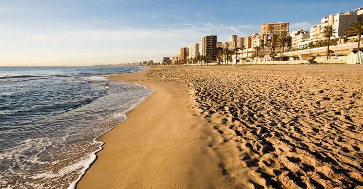 Playa de Muchavista Alicante