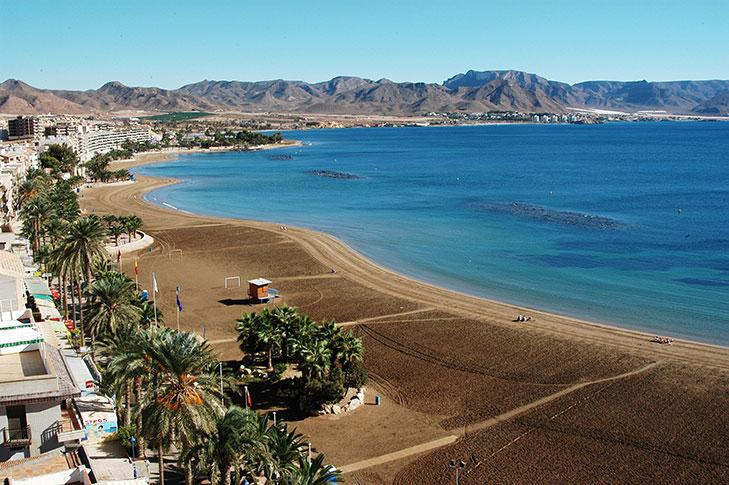 Playa de Puerto de Mazarron