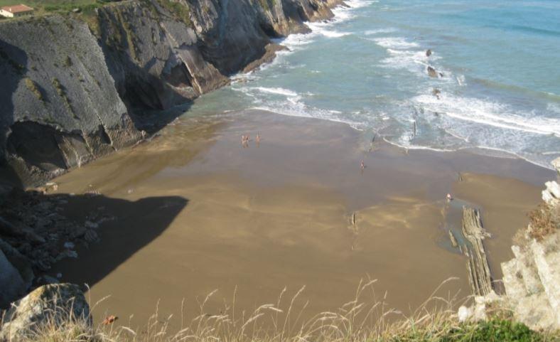 Playa de Zumaia Gipuzkoa