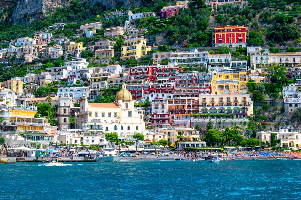 pueblos bonitos de italia Positano
