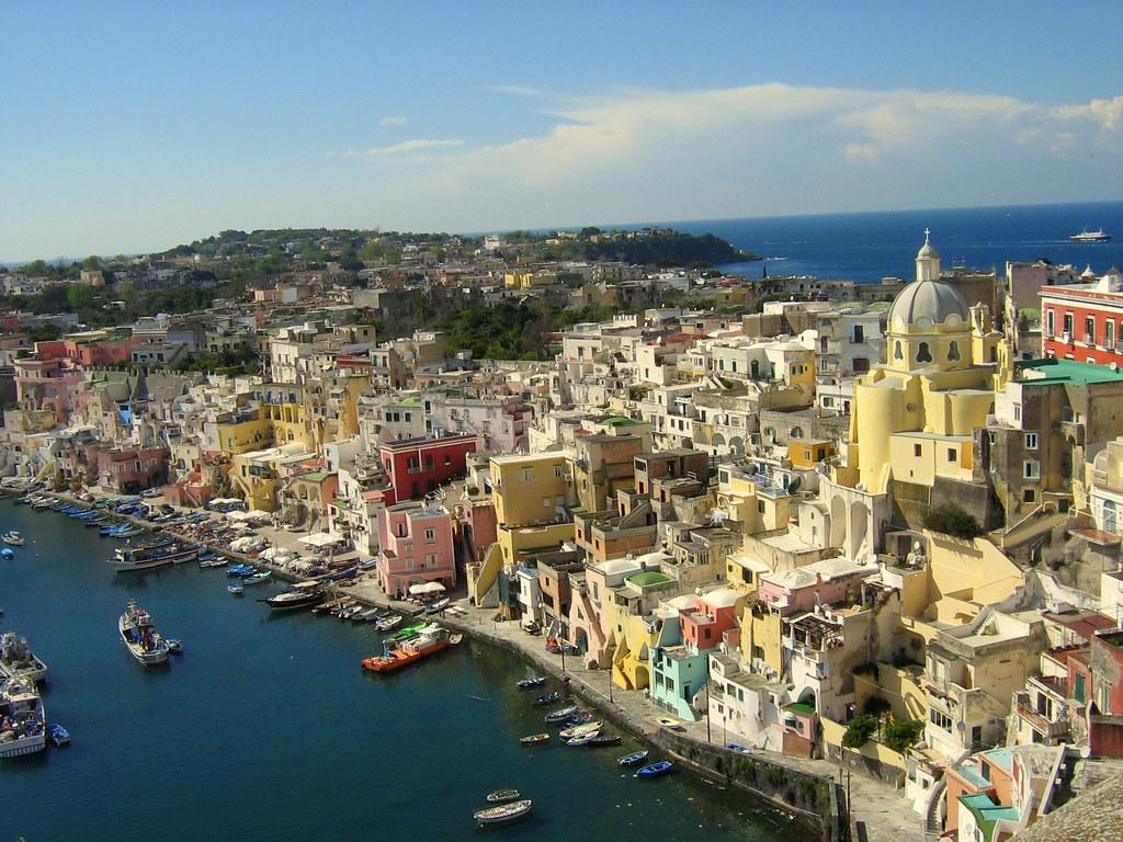 los lugares mas bonitos de italia Procida