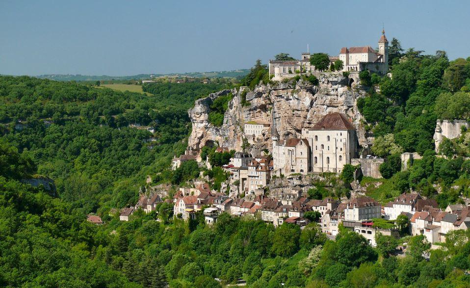 Rocamadour precioso pueblo frances