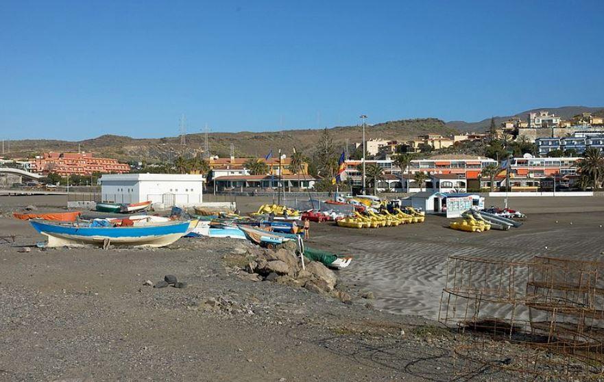 San Agustin y Las Burras mejores playas gran canaria